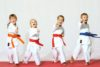 Children's Martial Arts Classes in Tamworth, called our Tiny Tees program.